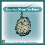 Garden stone pendant, Crystal's Tiny Treasures Childminder in Whitehead and Islandmagee, homemade jewellery, tween craft, frugal jewellery, photo