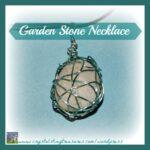 Garden Stone Pendant Necklace