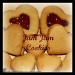 Grandma's Jam Jam Cookies, made with love cookies, family favourite cookies, sandwhich cookies, photo