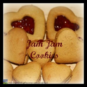 Grandma's Jam Jam Cookies, made with love cookies, family favourite cookies, sandwhich cookies, pho</a srcset=