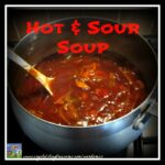 Hot and sour soup, Crystal's Tiny Treasures, Winter soup, cold remedy, photo