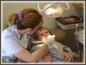 First Dentist Visit, Preparing for the dentist, kids dental month, kids and the dentist, photo