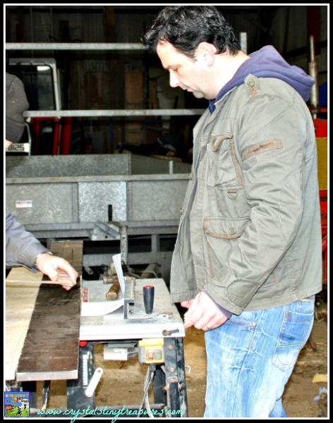 Measure twice and cut once, building a bird box, nature activities, birdwatching fun, photo