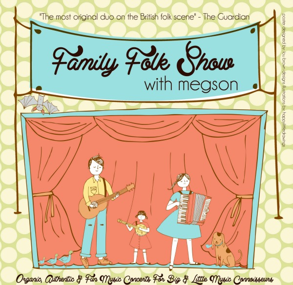 Megson - Family Folk Show Flyer, photo