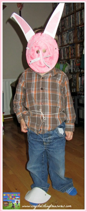 Paper plate animal masks, paper plate fun for kids, photo