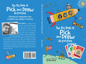 The Big Book of Pick and Draw Activities, Pick and Draw game, Crystal's Tiny Treasures Childminding, kids art and literacy games, photo