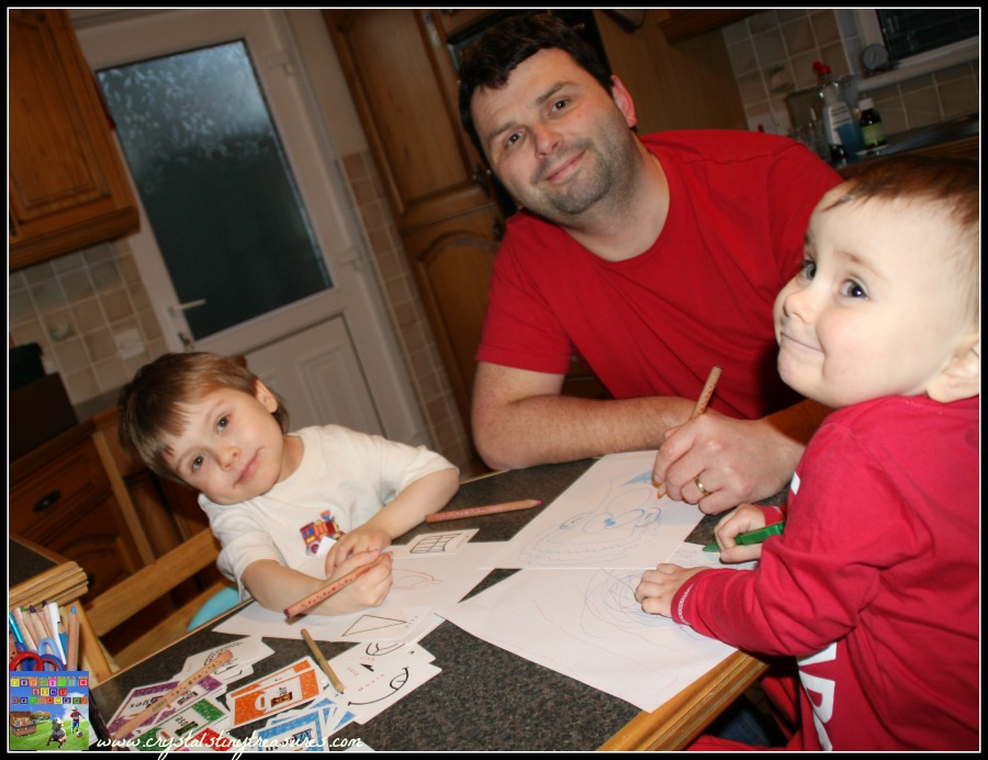 The Big Book of Pick and Draw Activities, Pick and Draw game, Crystal's Tiny Treasures Childminding, kids art and literacy games, Crystal's Tiny Treasures Childminding in Whitehead, photo