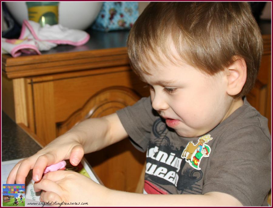 Egg carton crafts, play food crafts, felt crafts for kids, Crystal's Tiny Treasures, photo