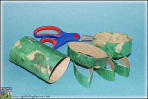 Cardboard roll crafts, Shamrock crafts for kids, Crystal's Tiny Treasures Childminding in Whitehead, photo
