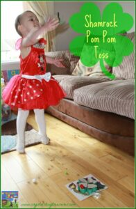 St. Patrick's Day games, Rainbows crafts, St. Patrick's Day crafts, shamrock crafts for kids, paint mixing for kids, photo