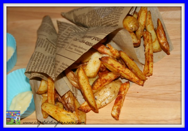 Homemade spicy fries, Healthy chips, Foods from Peru, South America, Crystal's Tiny Treasures, photo