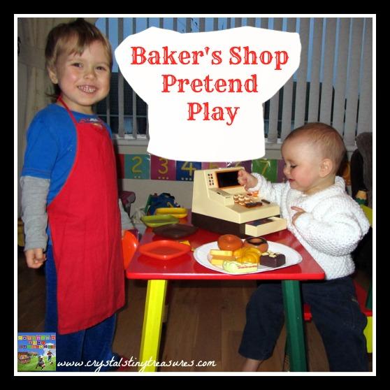 BAKER'S SHOP PRETEND PLAY