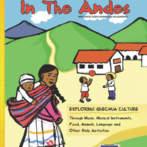 A Child's Life in the Andes, Book and Cd review, culture for kids, Kids learn about Peru culture, photo