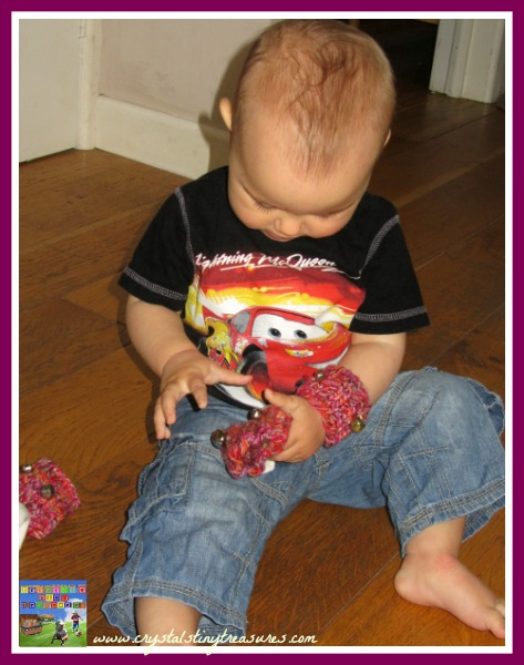 making music with babies, toddler musical fun, stocking stuffers for babies and toddlers, photo
