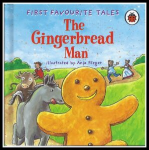 The gingerbread man activities for kids, reading ideas for preschoolers, photo