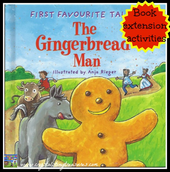 THE GINGERBREAD MAN:  IDEAS TO EXTEND READING FUN