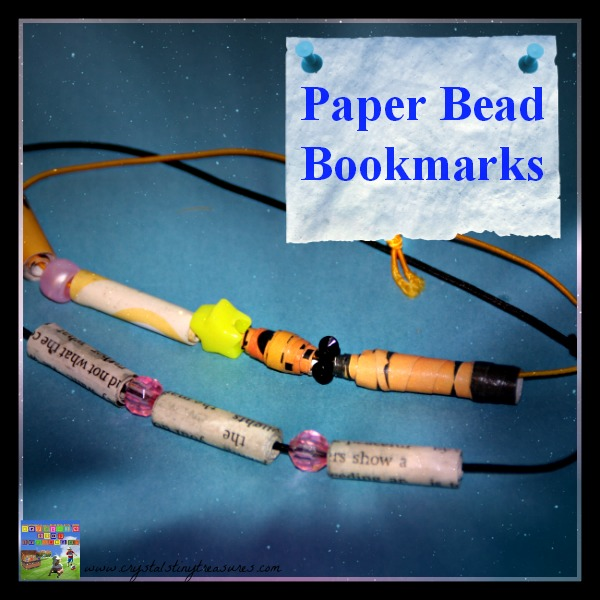 PAPER BEAD BOOKMARKS