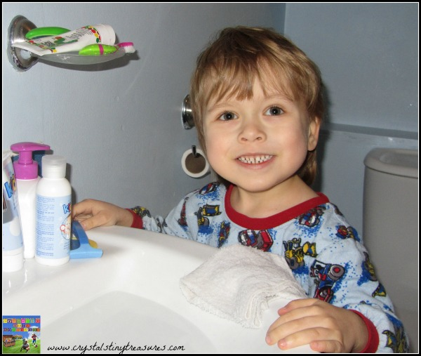 A Son's First Shave, Like Father like son, Crystal's Tiny Treasures, photo