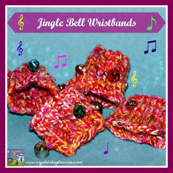 JINGLE BELL WRIST BANDS