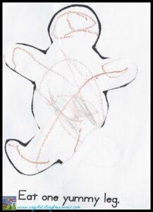Gingerbread man story activity, Crystal's Tiny Treasures Childminding, Photo