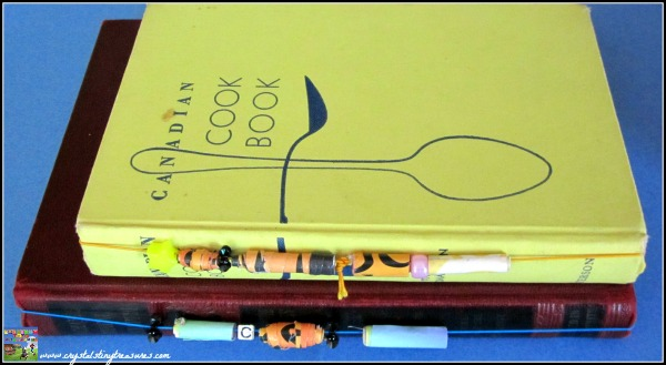 Sentimental gifts from kids, crafty book marks, photo