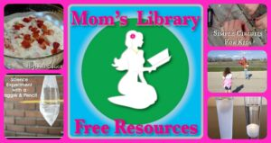 Mom's Library Free Resources, Crystal's Tiny Treasures, Science ideas for children, photo
