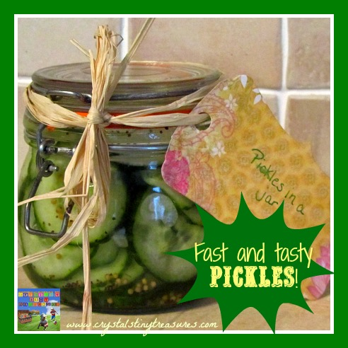 Pickles in a Bucket by Castle View Academy are super-easy, quick, and delicious!