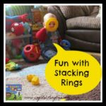 Stacking rings: fun for everyone, photo
