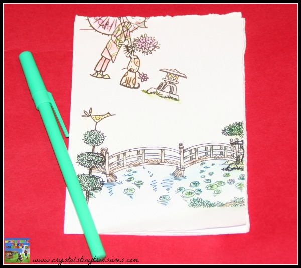 Earth day activities for kids, recycled paper note pad, frugal household ideas, photo