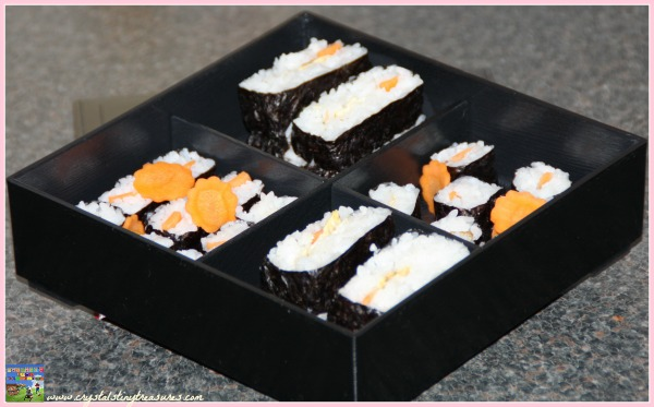 home made sushi, photo