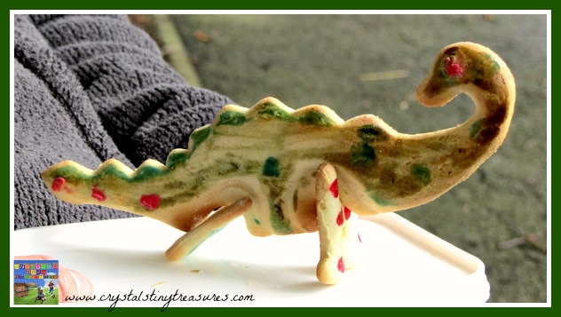 Great roaring dino cookies, phooto