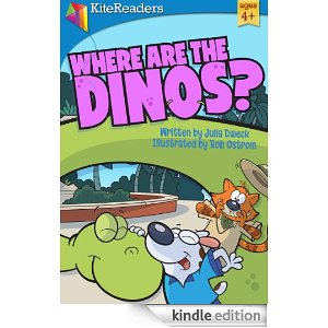Where Are The Dinos? e-book, childrren's books about Dinos, Kid Lit Giveaway Hop, Children's book week, 2013, photo