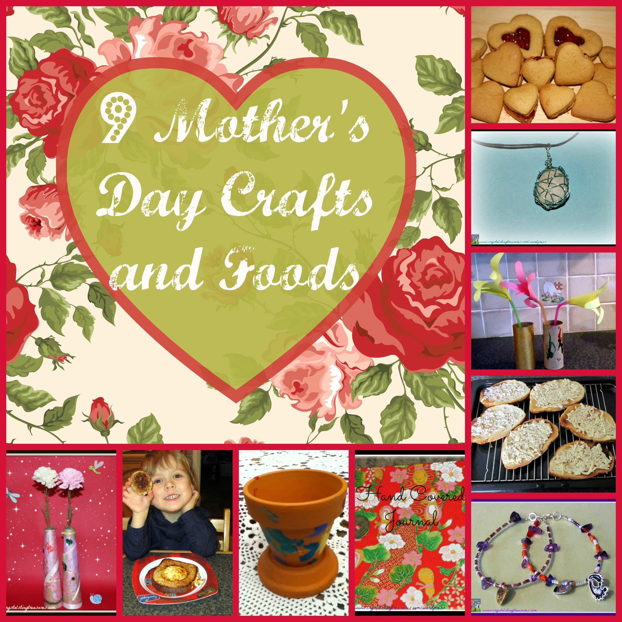9 Mother's Day Craft and Food Ideas