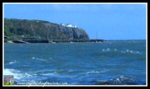 Blackhead lighthouse, Whitehead, Islandmagee, Northern Ireland, Feeding the birds, Poetry by a 4yr old, photo