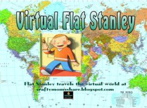 virtual flat stanley, photo