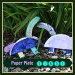 Paper plate dinosaurs, Crystal's Tiny Treasures, photo