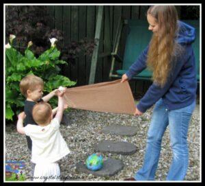 Aliens in Underpants Save the World, Childminding activities, Babysitting fun, book activities, photo