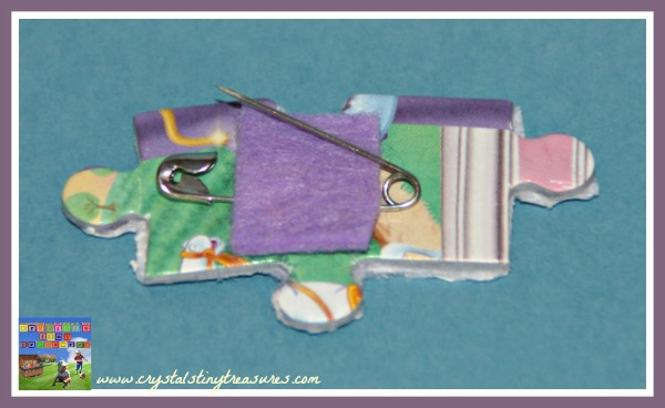 making a brooch clasp