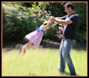 Father-daughter fun, photo