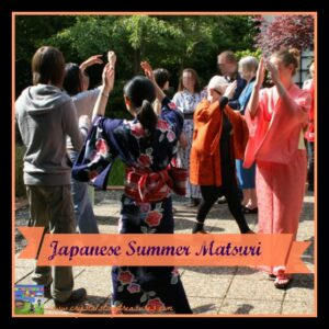 Japanese Summer Matsuri in Northern Ireland, multicultural activities for kids