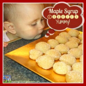 Maple Syrup Cookies are a real treat!