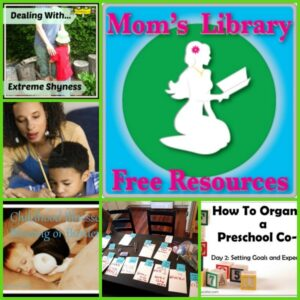 Parenting advice at Mom's Library 50