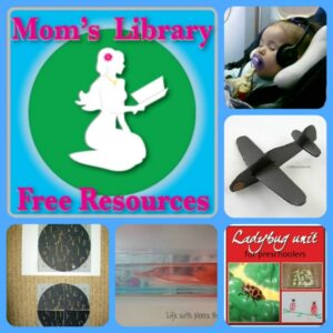 Things in the sky, Mom's Library free resources linky party