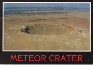 Meteor Crater Arizona, photo