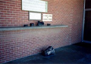 Meteorite samples, photo