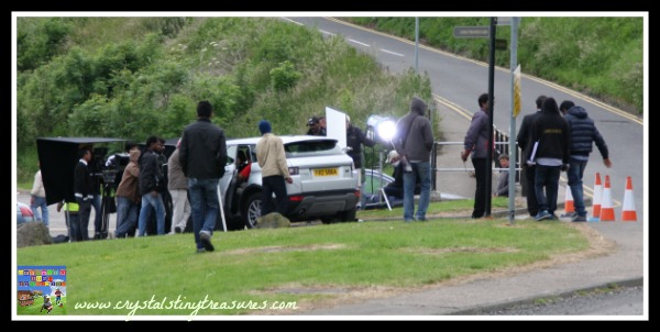 Action! Bollywood comes to Northern Ireland, learning how a movie is made, Crystal's Tiny Treasures, photo