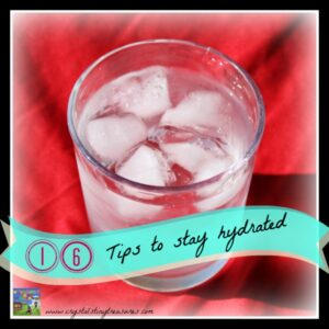 16 Tips for Keeping Kids Hydrated by Crystal's Tiny Treasures