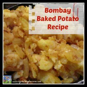 Bombay Baked Potato Recipe