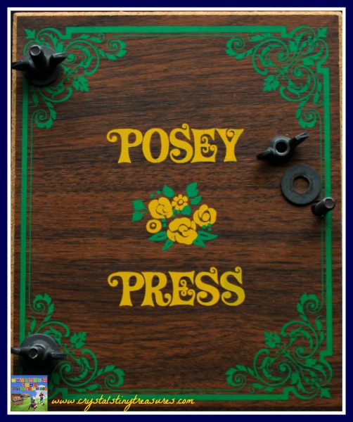 Posey press, pressing flowers, flower art, photo
