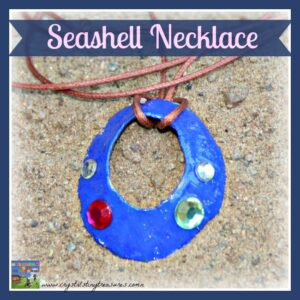 Seashell Necklace by Crystal's Tiny Treasures
